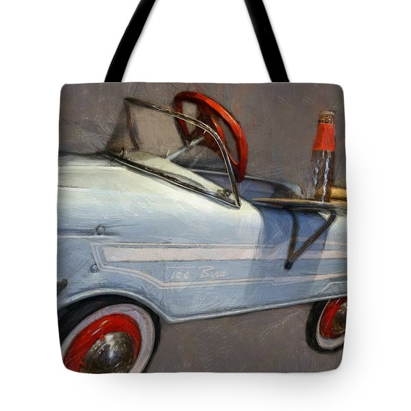 Drive In Pedal Car Tote Bag
