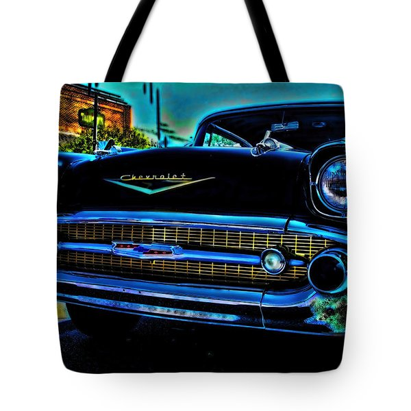 Drive In Special Tote Bag by Lesa Fine