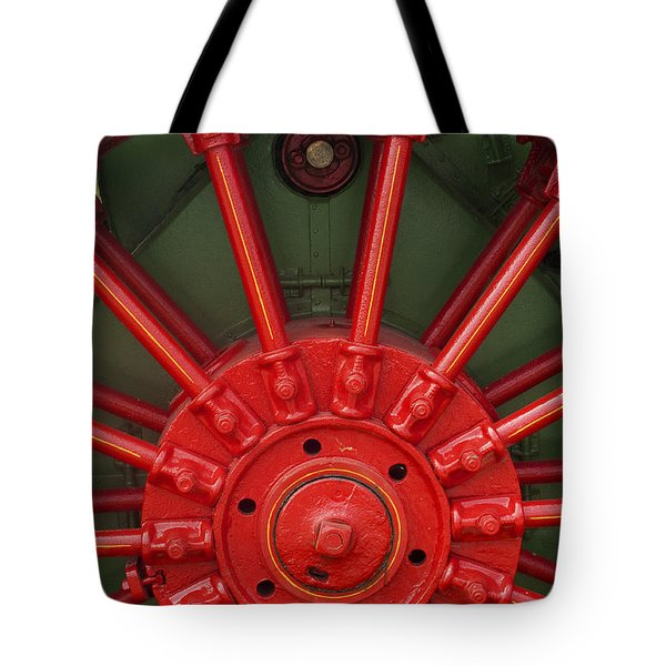 Drive Wheel Tote Bag by Paul W Faust -  Impressions of Light