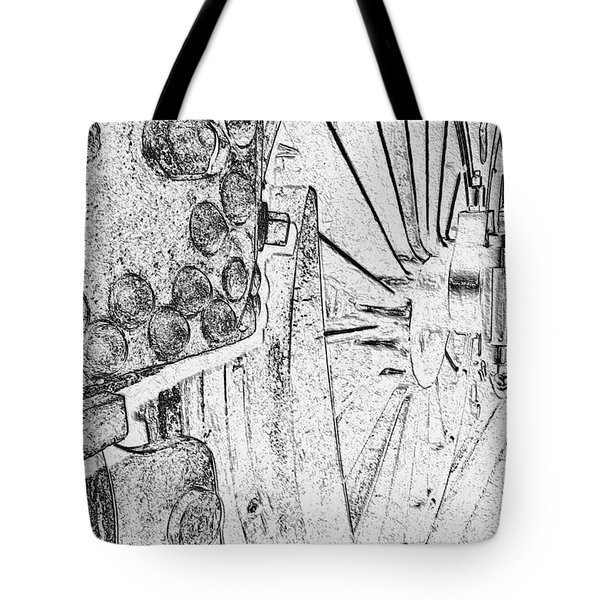 Drive Wheels Dm  Tote Bag