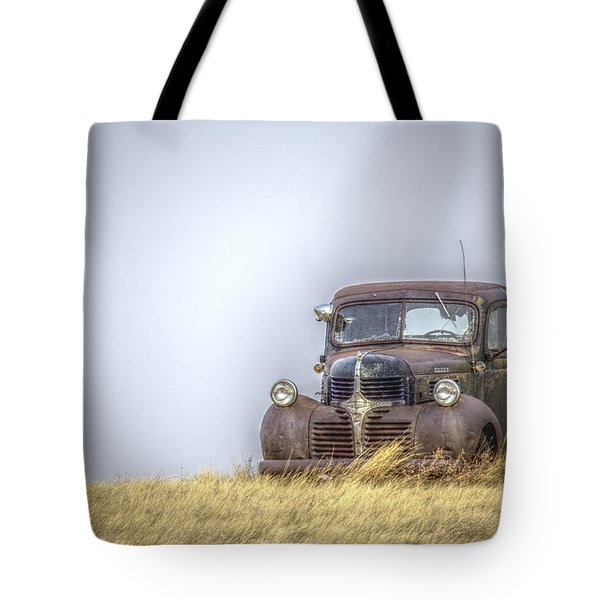 A Rusty Abandoned Truck Near Sturgis South Dakota Tote Bag