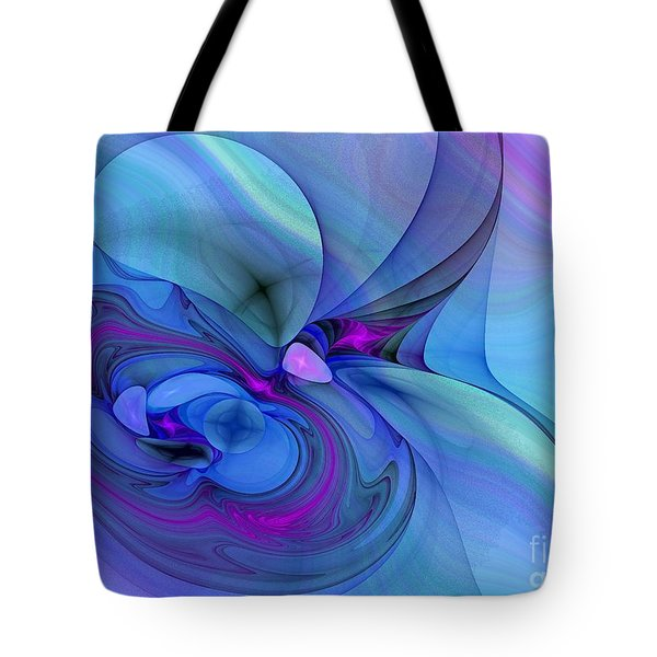 Driven To Abstraction Tote Bag by Peggy Hughes
