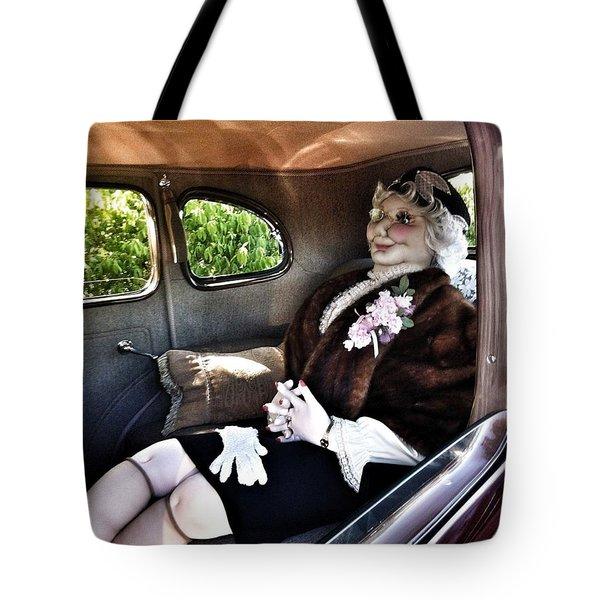 Driving Miss Daizee Tote Bag