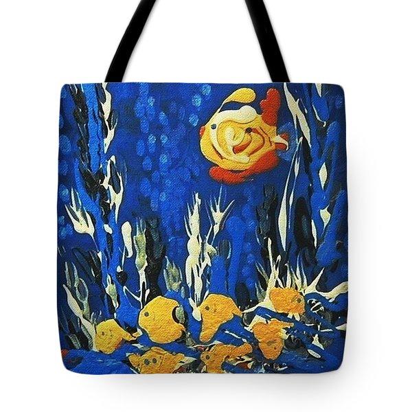 Drizzlefish Tote Bag