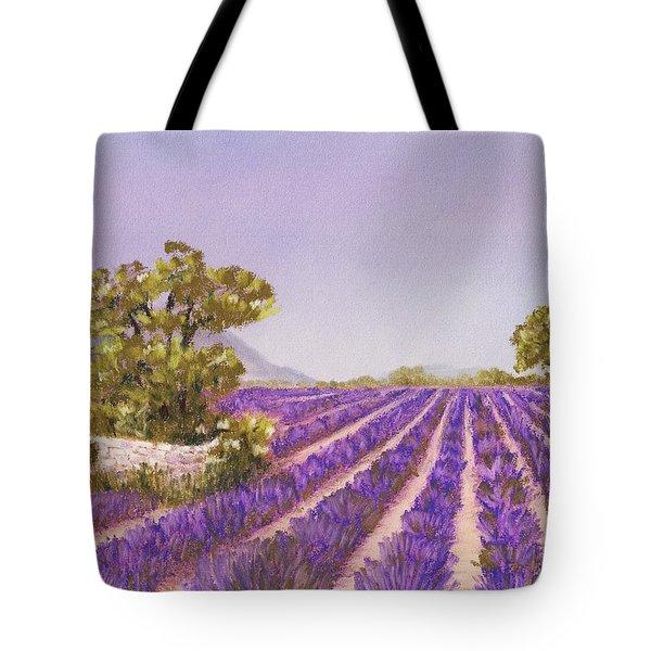 Drome Provence Tote Bag by Anastasiya Malakhova