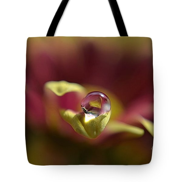 Drop On Petal Tote Bag