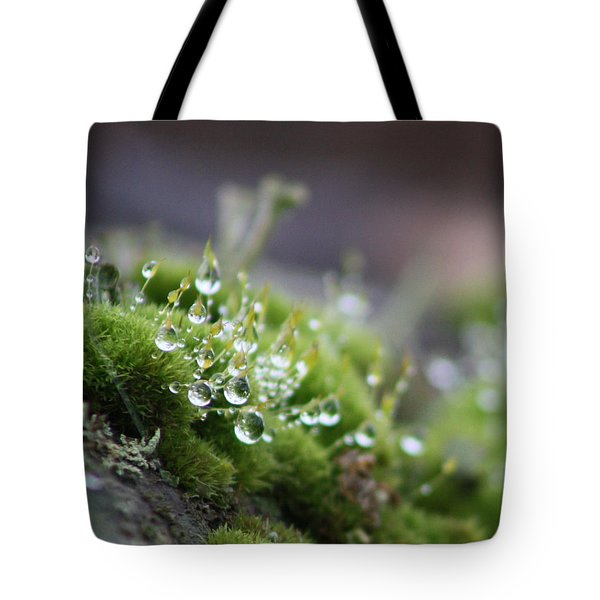 Droplets Tote Bag by Cathie Douglas