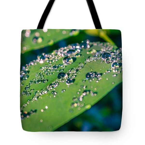 Tote Bag featuring the photograph Droplets by Rob Sellers