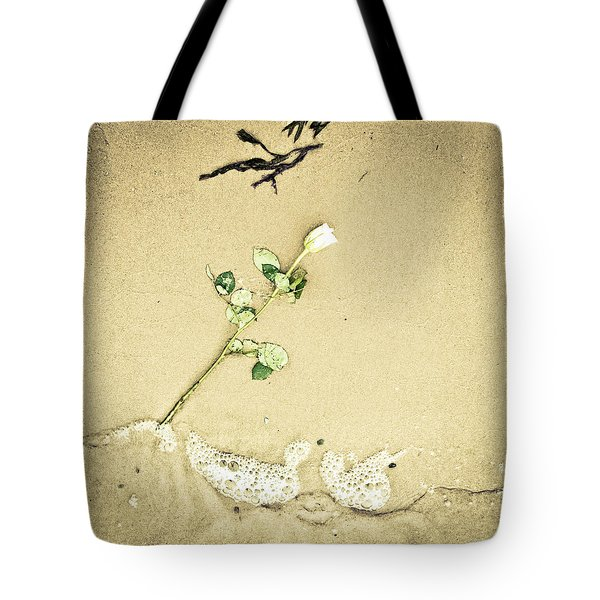 Dropped Flower Tote Bag by Tom Gowanlock