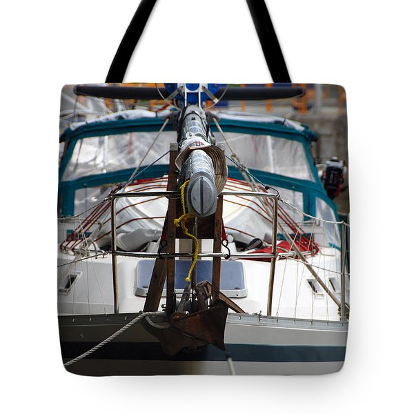 Dropped Mast Tote Bag