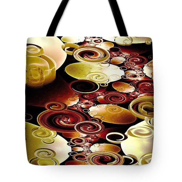 Drops And Ripples Tote Bag