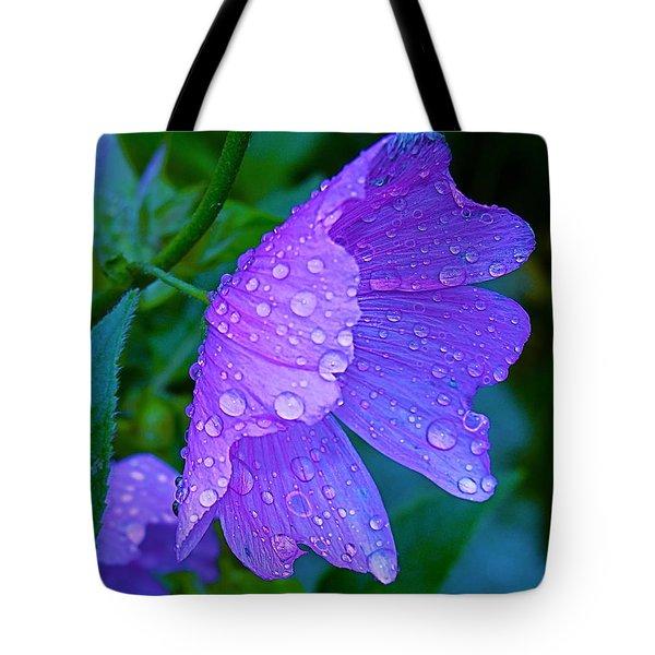 Drops Of Delight Tote Bag by Rita Mueller