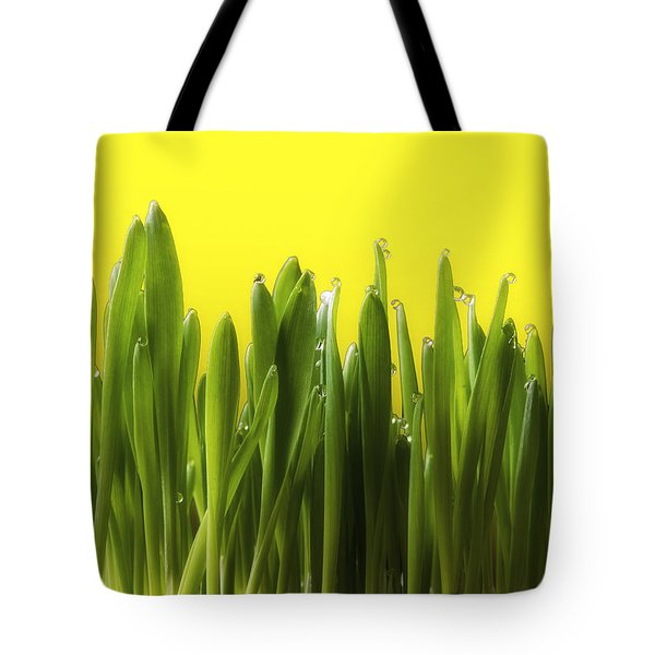 Drops Of Spring Tote Bag