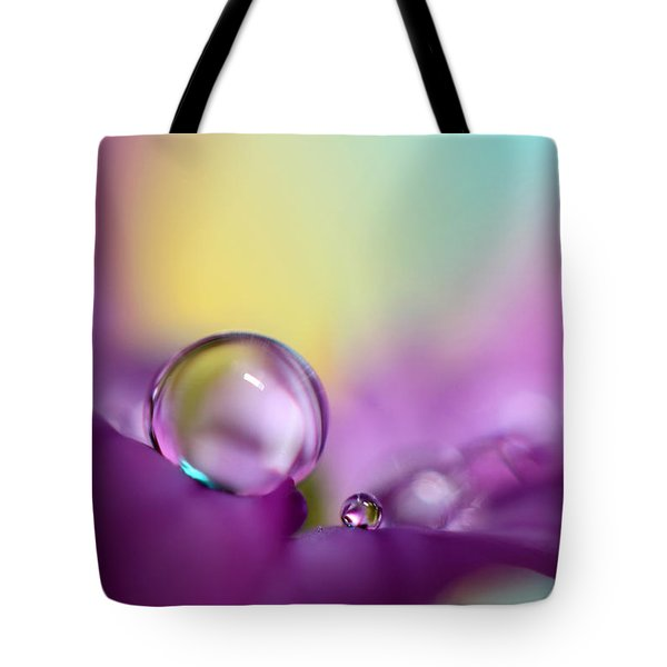 Drops Of Spring Colour Tote Bag