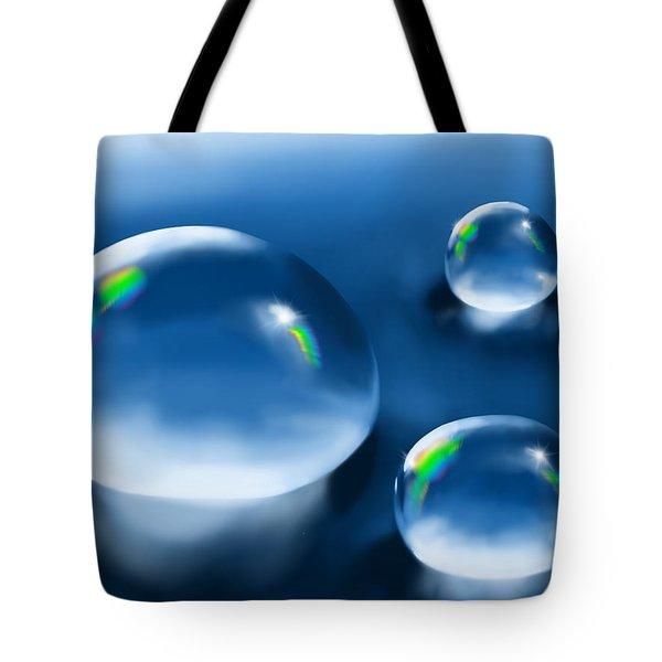 Drops Tote Bag by Veronica Minozzi
