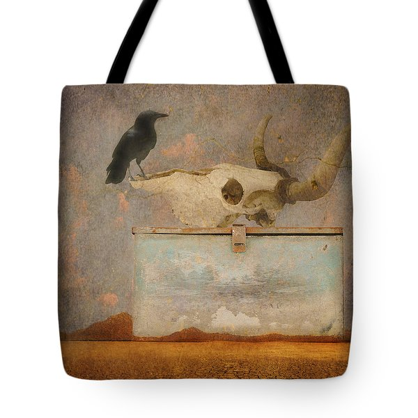 Drought And The Illusion Of Water Tote Bag by Jeff Burgess