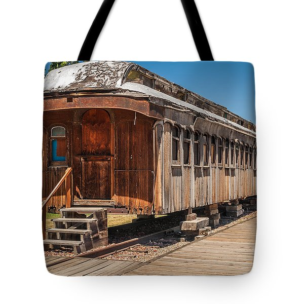 Drover And Cattle Cars Tote Bag