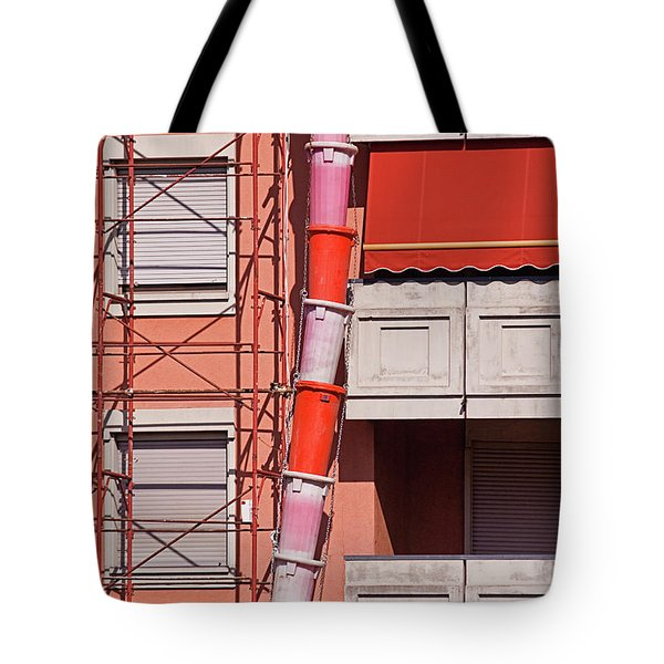 Drum Snake Tote Bag