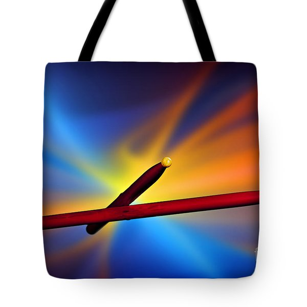 Drum Sticks Photograph For Combo Jazz  Color 3233.02 Tote Bag by M K  Miller