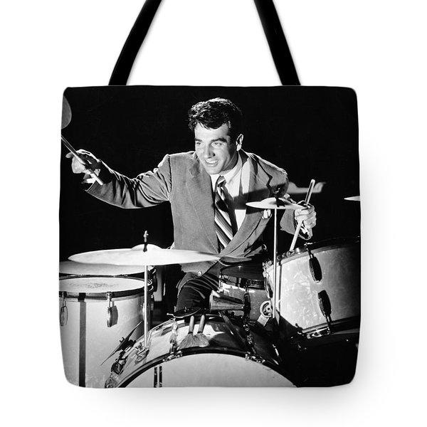 Drummer Gene Krupa Tote Bag