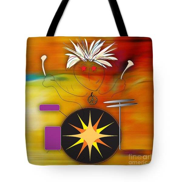 Drummer  Tote Bag by Marvin Blaine