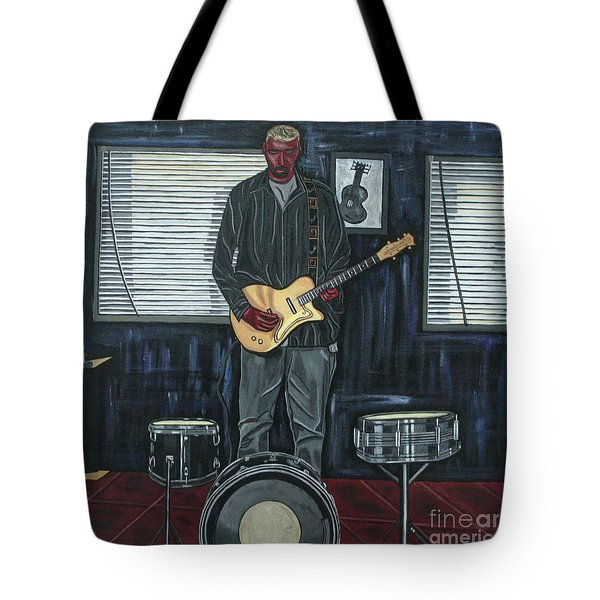Drums And Wires Tote Bag