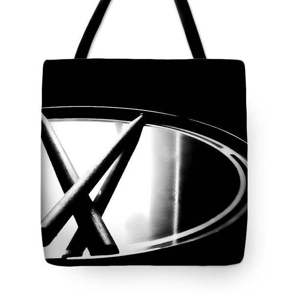 Tote Bag featuring the pyrography Drumstixs by Nina Bradica