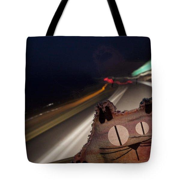 Drunk Driver Tote Bag by Jeannette Hunt