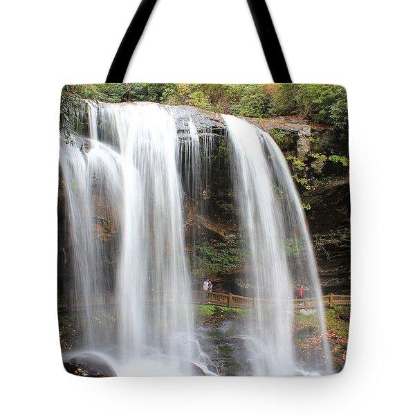 Dry Falls Nc 10 19 2013 Tote Bag