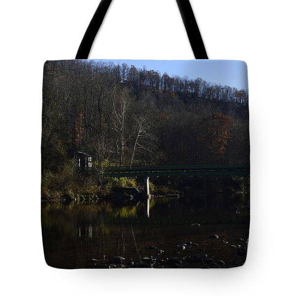 Dry Fork At Jenningston Tote Bag
