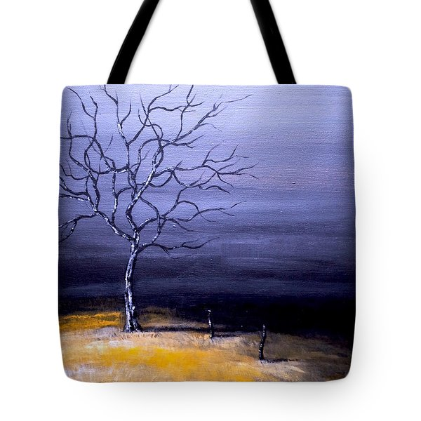 Dry Winter Tote Bag