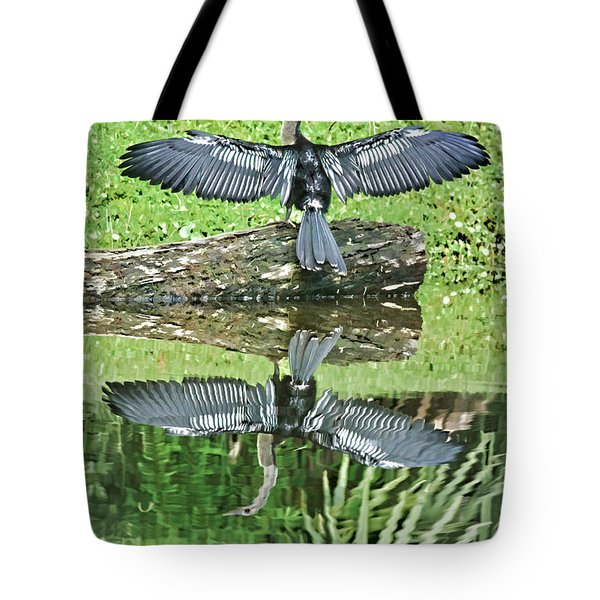 Drying In The Sun Tote Bag