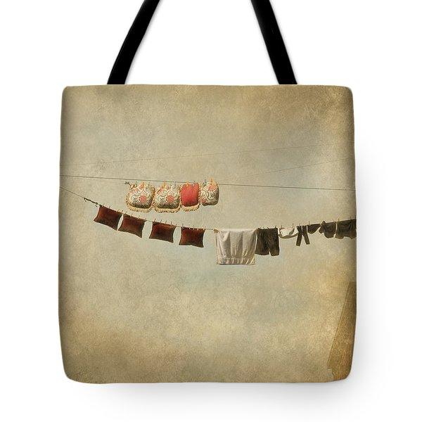 Drying Tote Bag