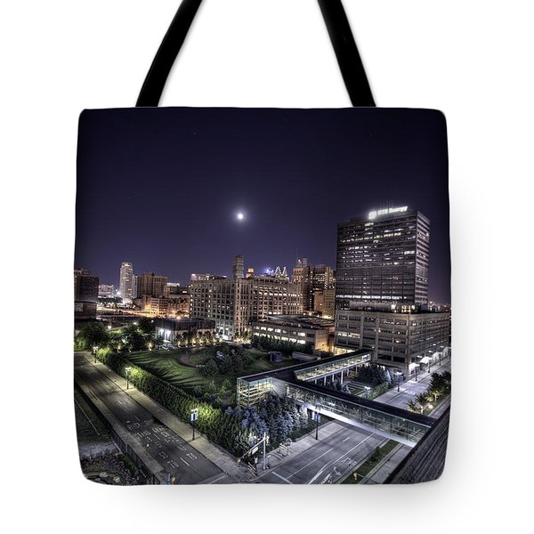 Dte In Detroit Tote Bag