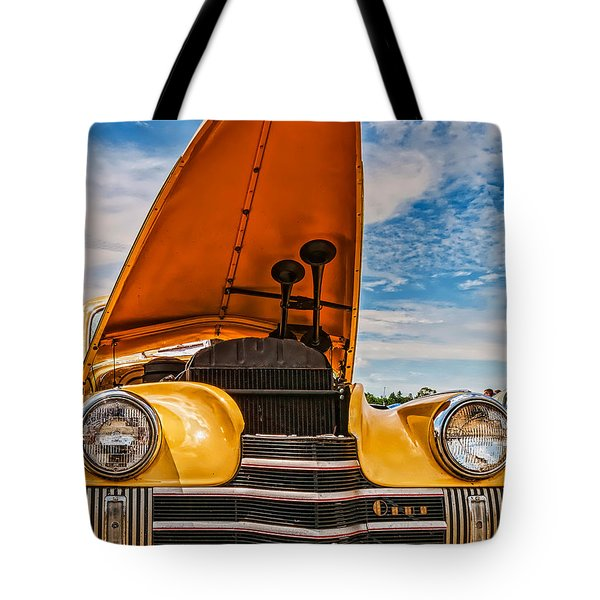 Dual Horn Olds Tote Bag