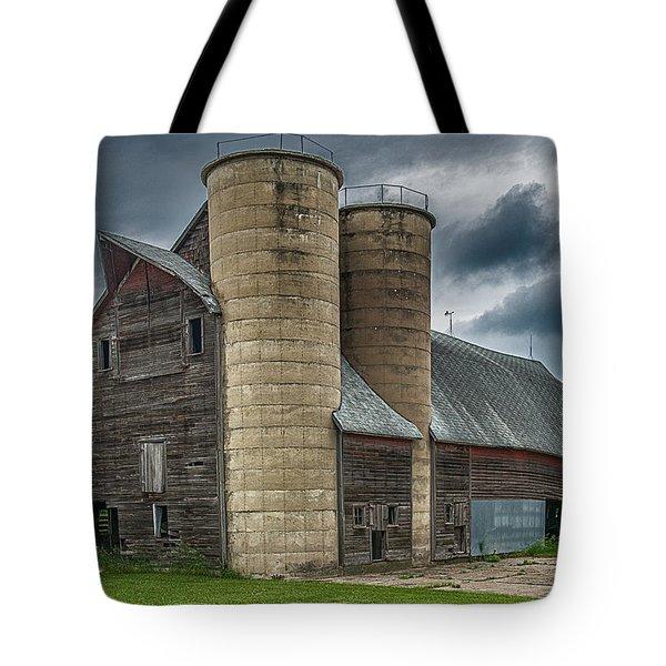 Dual Silos Tote Bag by Paul Freidlund