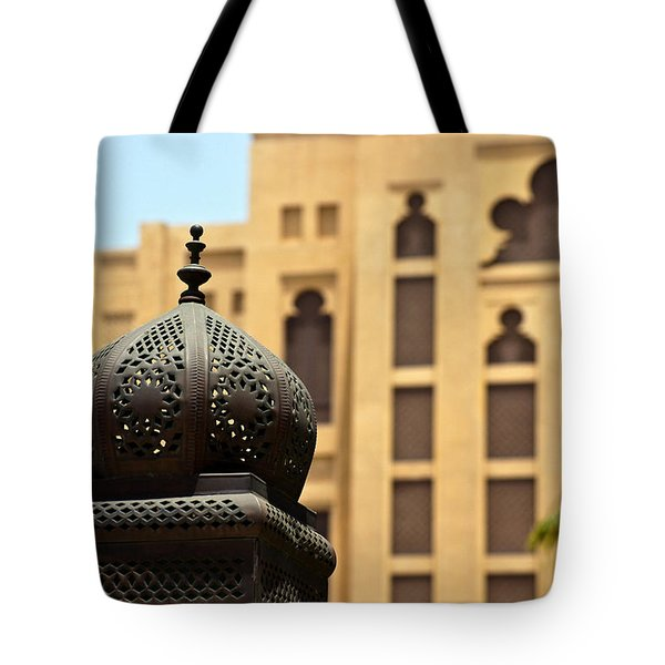 Dubai Arches Tote Bag