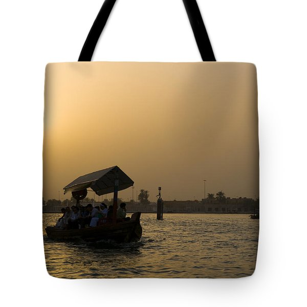 Dubai Water Taxi Tote Bag