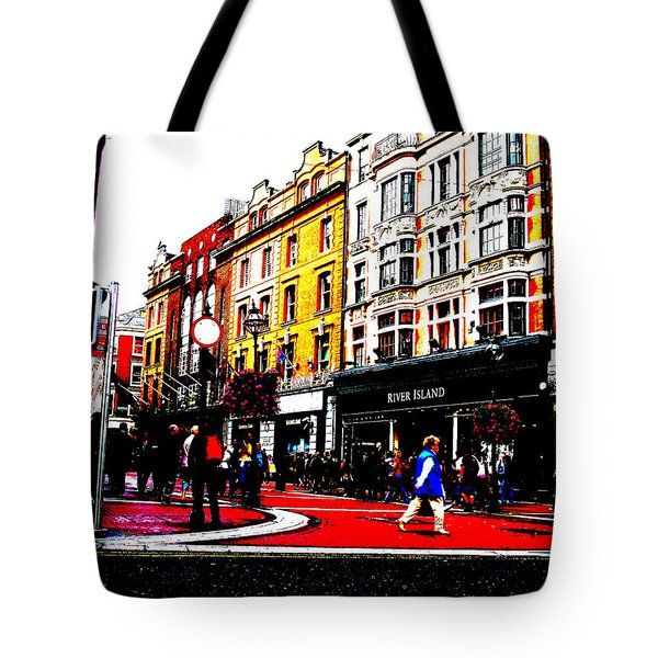 Dublin City Vibe Tote Bag by Charlie and Norma Brock