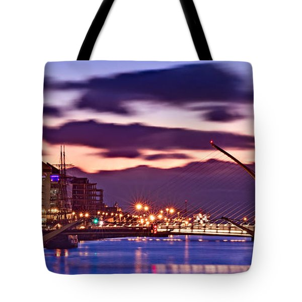 Dublin Docklands At Dawn / Dublin Tote Bag