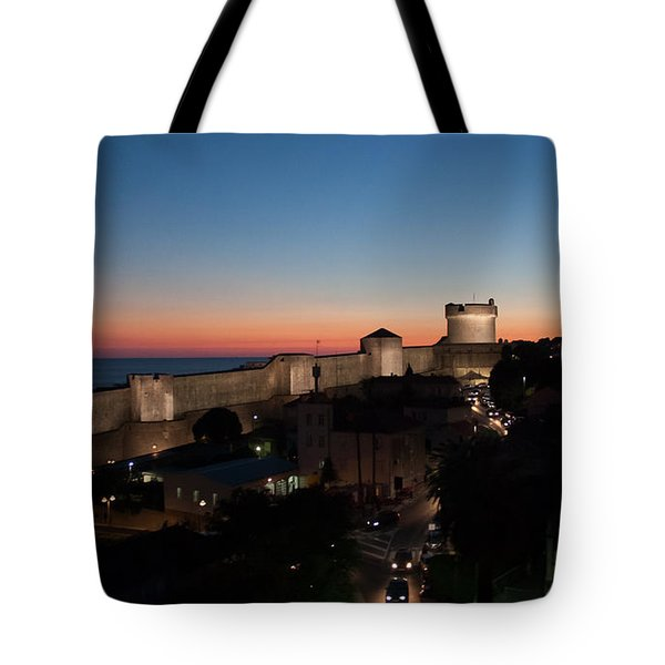 Tote Bag featuring the photograph Dubrovnik by Silvia Bruno