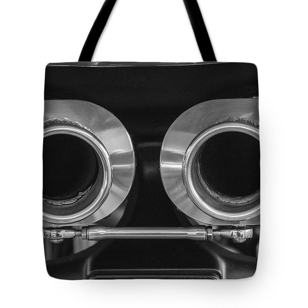 Ducati Twin Exhaust Tote Bag by Brian Roscorla