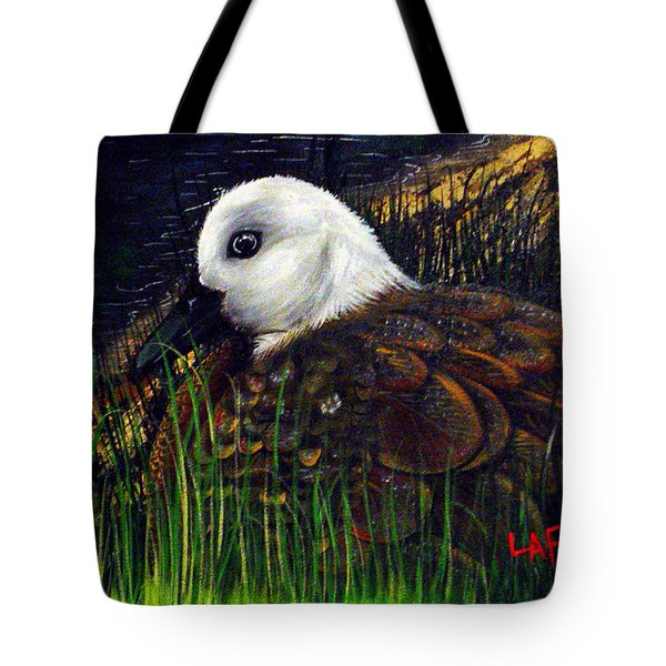 Duck At Dusk Tote Bag