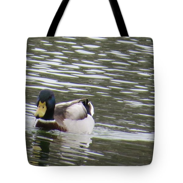 Duck Out For A Swim Tote Bag