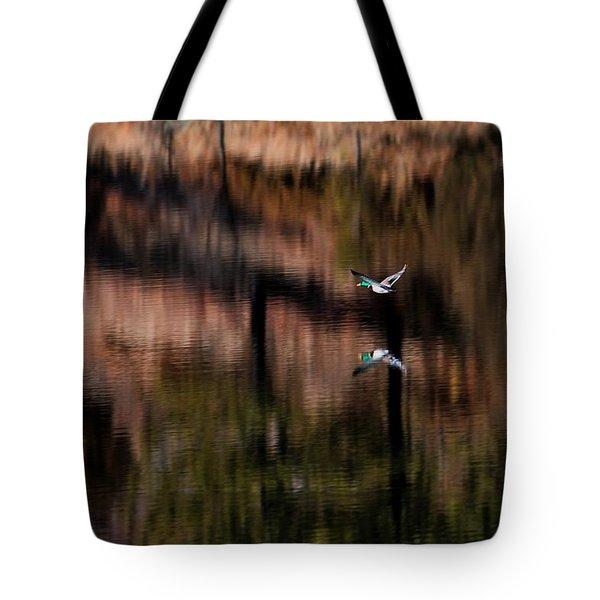 Duck Scape Tote Bag