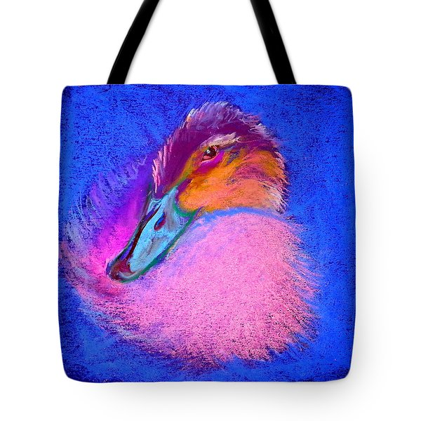 Duckling Pretty In Pink Tote Bag