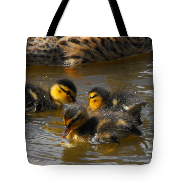 Duckling Splash Tote Bag