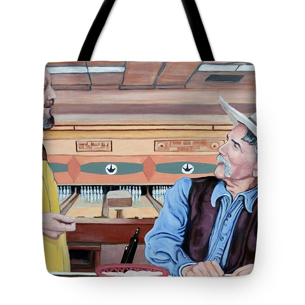 Dude You've Got Style Tote Bag