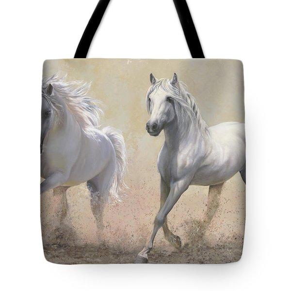 Due Cavalli Tote Bag by Danka Weitzen