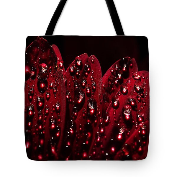 Tote Bag featuring the photograph Due To The Dew by Joe Schofield